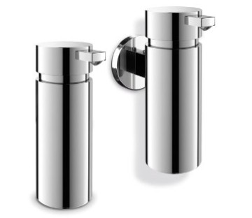 Stainless Steel Wall Fluid Soap Dispenser Duo