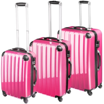 Suitcase 4 Wheels With Telescopic Handles
