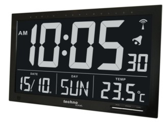 Jumbo Digital Calendar Clock With Big Numbers