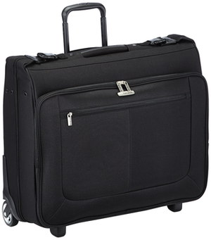 Travel Suit Carrier With Wheels With Black Handle