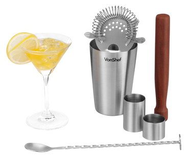 Cocktail Maker Set With Twist Spoon