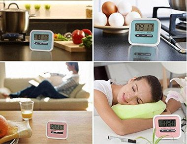 Big Digit Magnetic Digital Kitchen Timer With White Frame