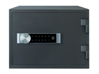 Fireproof Document Safe In Dark Blue