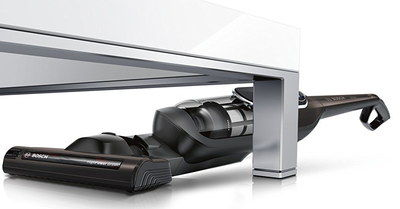 Cordless Vac Under Table