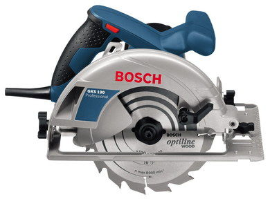 Small Compact Circular Saw With Black Cord