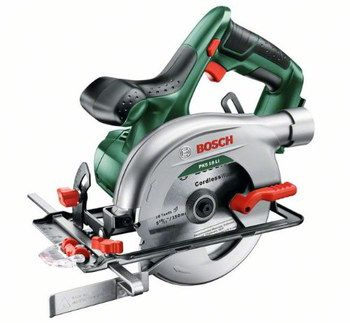 Lithium Wire-Free Circular Saw With Steel Blade