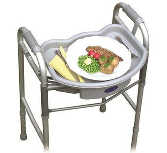 Light Tray Walking Frame With 4 Legs