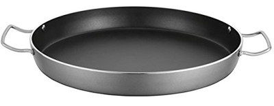 Lightweight Big Non-Stick Paella Pan With Deep Sides