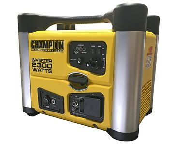 53 dB Petrol Inverter Generator In Yellow