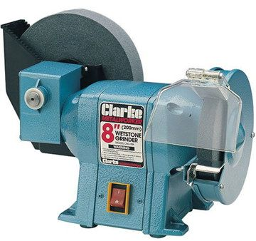 Metal Grinder Machine In Light Blue