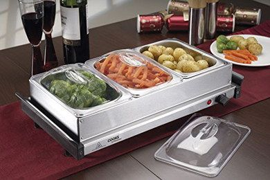 Powerful 1.4L Catering Food Warmer On Dining Table