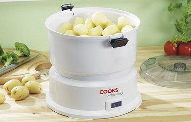 Potato Peeling Machine With Transparent Cover