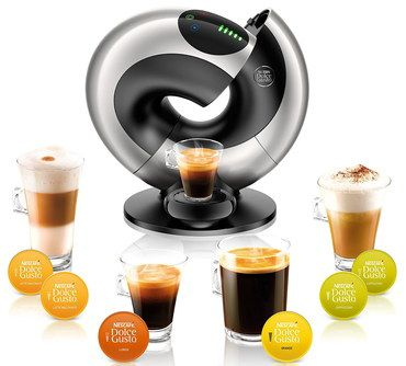 15 BAR Pod Coffee Machine In Circular Shape