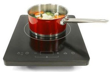 Keep Warm Electric Portable Induction Hob In Black