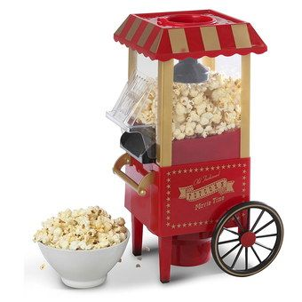 Cart Popcorn Machine With Wheels