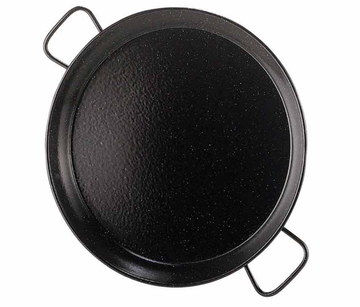 38 cm Induction Paella Pan With Curve Shape