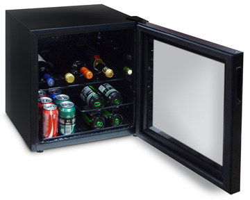135 Kwh Small Wine Refrigerator In All Black
