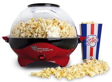Halogen Popcorn Maker In Red And Black