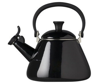 Steel Whistling Hob Top Kettle In Enamel