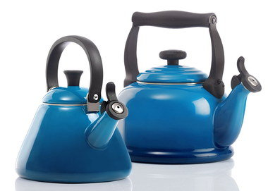 Induction Cookware Tea Kettle In Blue