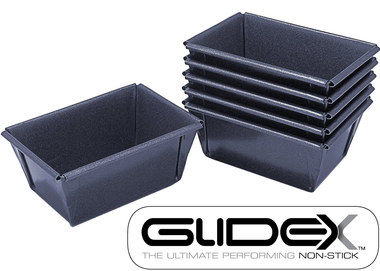 Robust Cookware Mini Tray Bake Tins Staked Up