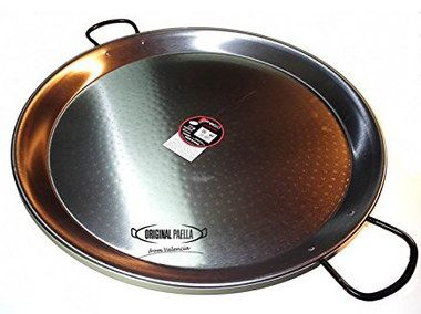 70 cm Authentic Large Paella Pan With Long Grips