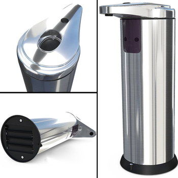 3 Modes Chrome Soap Dispenser With Polished Gleam
