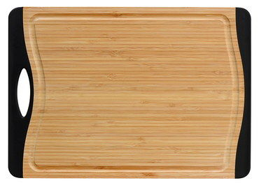 Eco Gourmet Bamboo Board With Black Grips