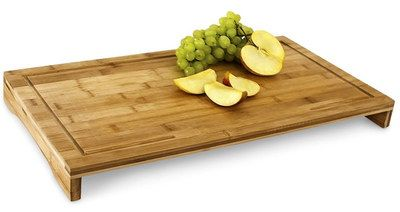 Durable Bamboo Wooden Carving Board Rectangular