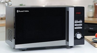 25 Litres Small Microwave Oven With Black Exterior