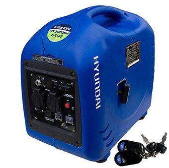 Pure Sine Wave Petrol Generator With Blue Exterior