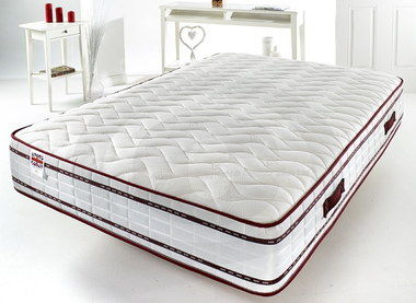 6ft Memory Foam Mattress SK In White