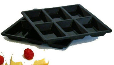 Non-Stick Small Loaf Tray In All Black Material