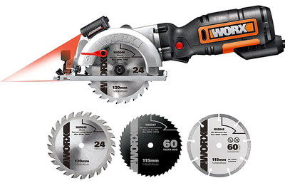 Small Size Versatile Mini Circular Saw With Blades