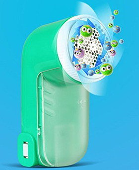 Electric Fabric Shaver In Green Casing