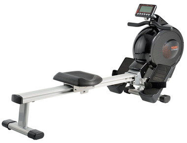 16 Settings Foldable Rowing Machine In Black